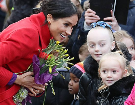January 14 – The Duke And Duchess of Sussex Visit Birkenhead