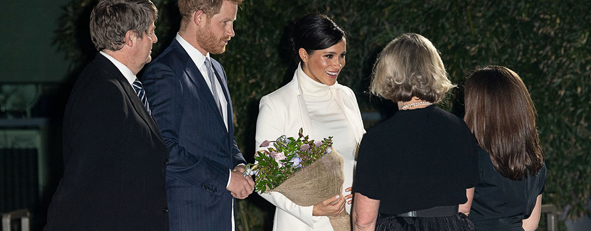 "February 12 – The Duke And Duchess Of Sussex Attend A Gala Performance Of ""The Wider Earth"""