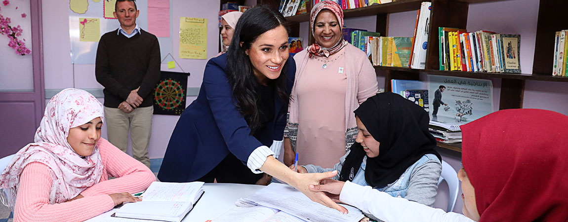 Photos & Roundup: February 24 – Royal Visit Morocco – Day 2