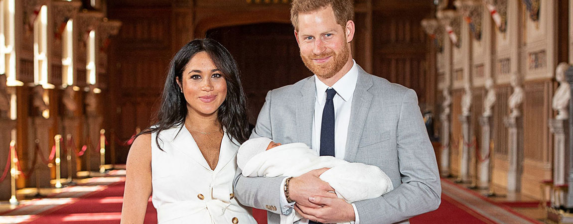 The Duke And Duchess Introduce Their Son Archie